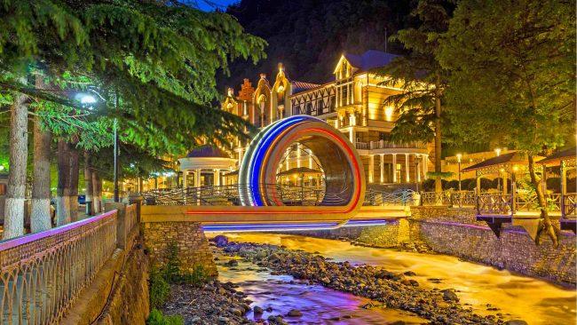 اماكن السياحة في بوروجومي